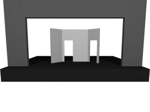 Proscenium added