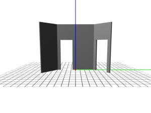 Grid with original camera definition